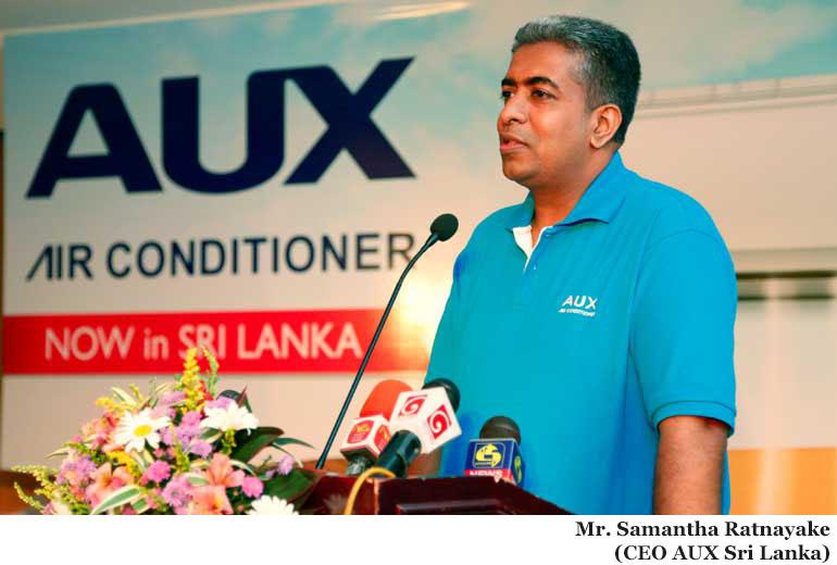 Mr. Samantha Rathnayaka CEO AUX Sri Lanka Private Limited